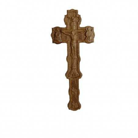 Cruce Binecuvantare sculptata. Dimensiuni 170x75 mm