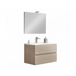 Set mobilier baie Easy80 Rovere Fumo - 4