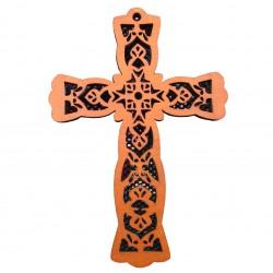 Cruce de perete traforata. Dimensiuni 19.4x13.4 cm